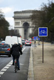 Arc de Triomphe, París. Fotografía de archivo