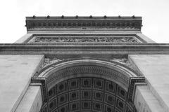 Arc de Triomphe a Parigi Immagini Stock Libere da Diritti