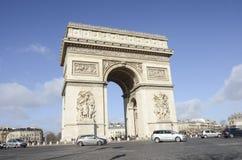 Arc de Triomphe, Parigi Fotografia Stock Libera da Diritti