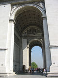 Arc de Triomphe, Parigi Immagini Stock