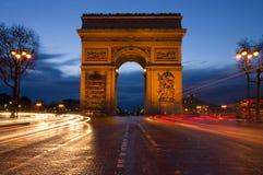 Arc DE Triomphe - Parijs Royalty-vrije Stock Afbeelding