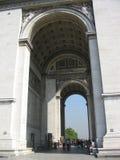 Arc DE Triomphe, Parijs stock afbeeldingen