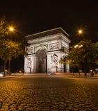 Arc DE Triomphe in Parijs royalty-vrije stock fotografie