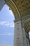 Arc de Triomphe Paris Stock Image