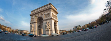 Arc de Triomphe - Paris. France Stock Photos