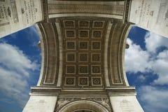 Arc de Triomphe, Paris Stock Images