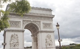 Arc de Triomphe, Paris Stockbilder