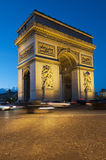 Arc de Triomphe - Paris Royalty Free Stock Images