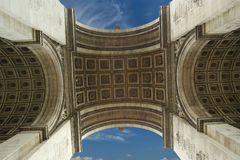 Arc de Triomphe, Paris. France Stock Images