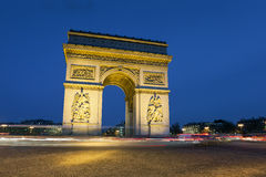 Arc de triomphe, Paris. Arc de triomphe, Charles de Gaulle square, Paris, Ile de France, France Stock Photo