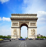 Arc de Triomphe Paris Stock Photography