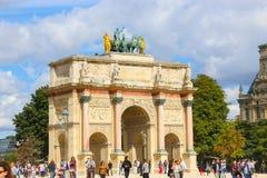Arc de Triomphe - Paris Images libres de droits