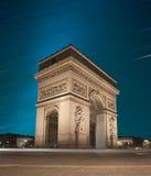 Arc de Triomphe, Paris Fotos de Stock