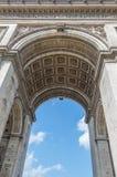 Arc de Triomphe 1. The Arc de Triomphe in Paris Stock Photography