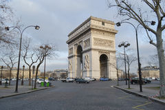 Arc de Triomphe, Paris Lizenzfreie Stockfotos