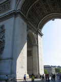 Arc de Triomphe, Paris. France Royalty Free Stock Photo
