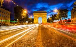 Arc de Triomphe Paris Imagens de Stock Royalty Free