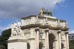 Arc de Triomphe. In Paris Stock Photo