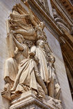 Arc de Triomphe in Paris Arch of Triumph. Detail at France Stock Photo