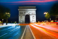 Arc de Triomphe in Paris Arch of Triumph Stock Photos