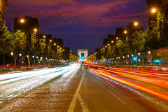Arc de Triomphe in Paris Arch of Triumph Royalty Free Stock Photos