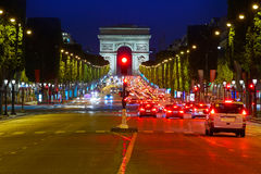 Arc de Triomphe in Paris Arch of Triumph Stock Images