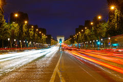 Arc de Triomphe in Paris Arch of Triumph Stock Image