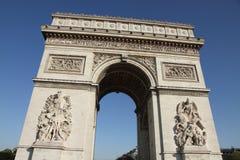Arc de Triomphe Paris. Arc de Triomphe from Below Paris Stock Images