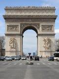 Arc de Triomphe in Paris Royalty Free Stock Photos