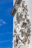 Arc de Triomphe in Paris. Detail of the Arc de Triomphe in Paris, France Royalty Free Stock Photography