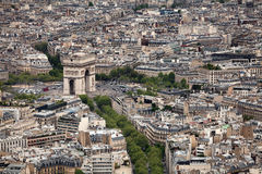 Arc de Triomphe Paris Stock Images