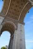 Arc de Triomphe, Paris. Famous Arc de Triomphe, Paris, France Stock Photo
