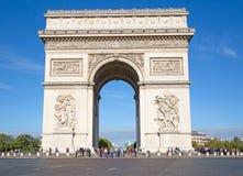 Arc de Triomphe, Paris. Famous Arc de Triomphe, Paris, France Royalty Free Stock Image