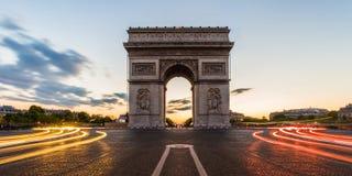 Arc de Triomphe Paris, França Foto de Stock Royalty Free