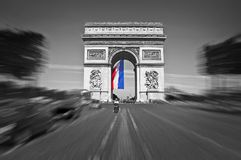 Arc de Triomphe, Paris France. Arc de Triomphe, Paris, France Stock Photo