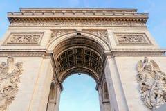 Arc de triomphe in  Paris - France. Arc de triomphe in  Paris - France Royalty Free Stock Images
