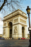 Arc de Triomphe, Paris France Royalty Free Stock Photo