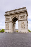Arc de Triomphe, Paris, France Stock Photography