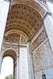 Arc de Triomphe, Paris, France. Detail of Arc de Triomphe (Arch the Triumph), Paris, France Stock Image