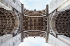 Detail picture of Arc de Triomphe in Paris - France. Arc de Triomphe in Paris - France Stock Image