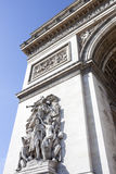 Detail from Arc de Triomphe Stock Photography