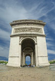 Arc de Triomphe, Paris, France.  Stock Image