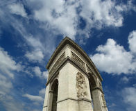 Arc de Triomphe, Paris, France.  Royalty Free Stock Images