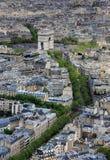 Arc de Triomphe in Paris. (France Stock Images