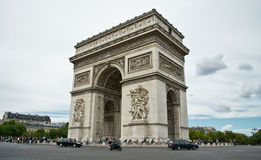 Arc de Triomphe, Paris Stock Photos