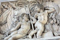 Arc de triomphe in  Paris. France Stock Photo