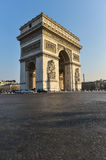 Arc de Triomphe in Paris. France Royalty Free Stock Photography