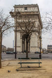 Arc de Triomphe, Paris, France. Arc de Triomphe in Paris, France Royalty Free Stock Photo