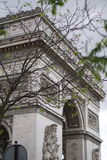 The arc de triomphe Royalty Free Stock Photography