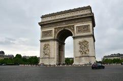 Arc de Triomphe in Paris Royalty Free Stock Image